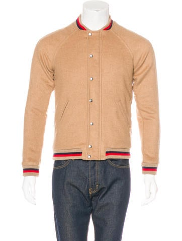 Band of Outsiders Camel Hair Jacket None