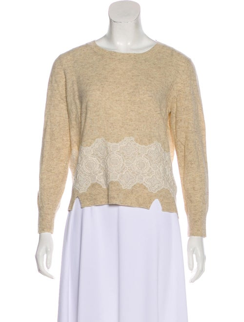 Band of Outsiders Wool-Blend Long Sleeve Sweater w