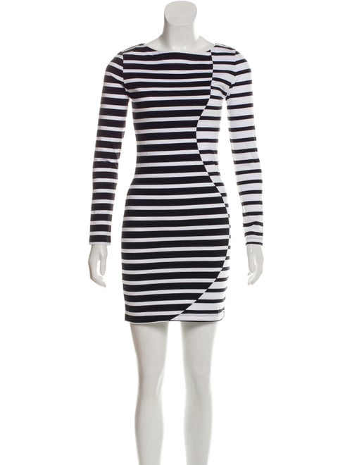 Band of Outsiders Striped Long Sleeve Dress w/ Tag