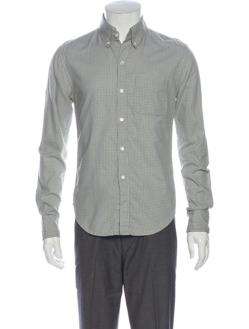 Band of Outsiders Houndstooth Print Long Sleeve Dr