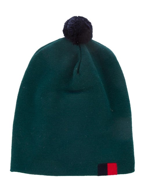 Band of Outsiders Knit Wool Beanie green