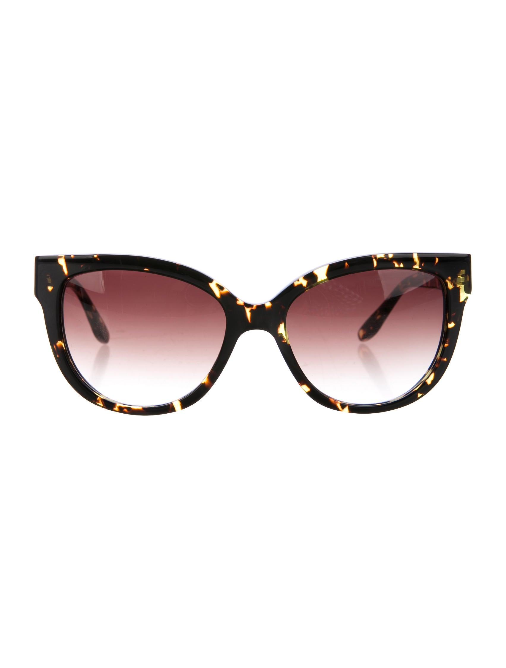 Barton Perreira Tortoiseshell Cat-Eye Sunglasses - Accessories ...