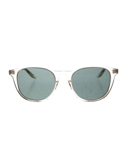 Barton Perreira Round Tinted Sunglasses transparen
