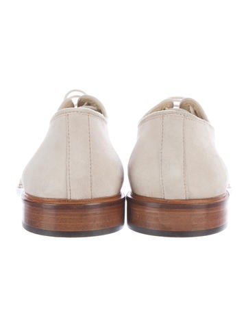 Suede Derby Shoes w/ Tags