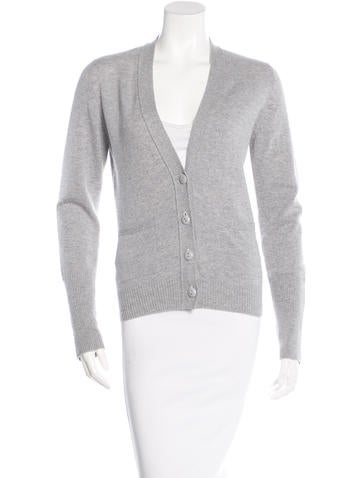 Barrie Cashmere Long Sleeve Cardigan None