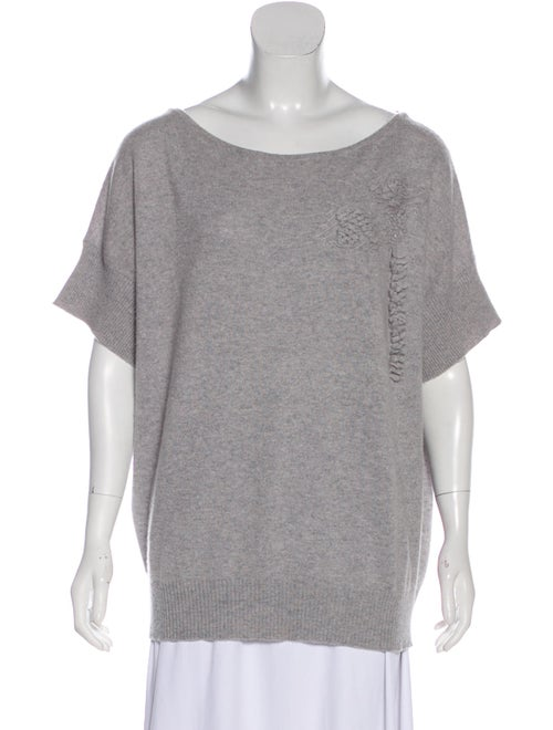Barrie Cashmere Lightweight Sweater grey