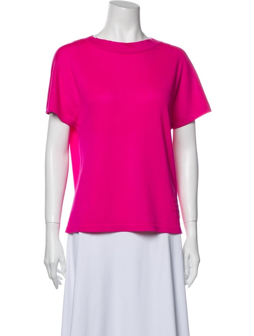 Barrie 2020 Cashmere T-Shirt Pink