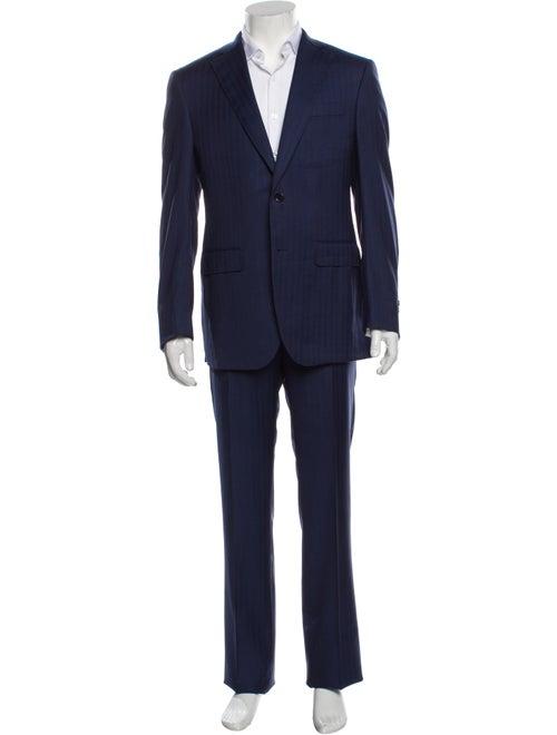 Battaglia Virgin Wool Two-Piece Suit Wool - image 1