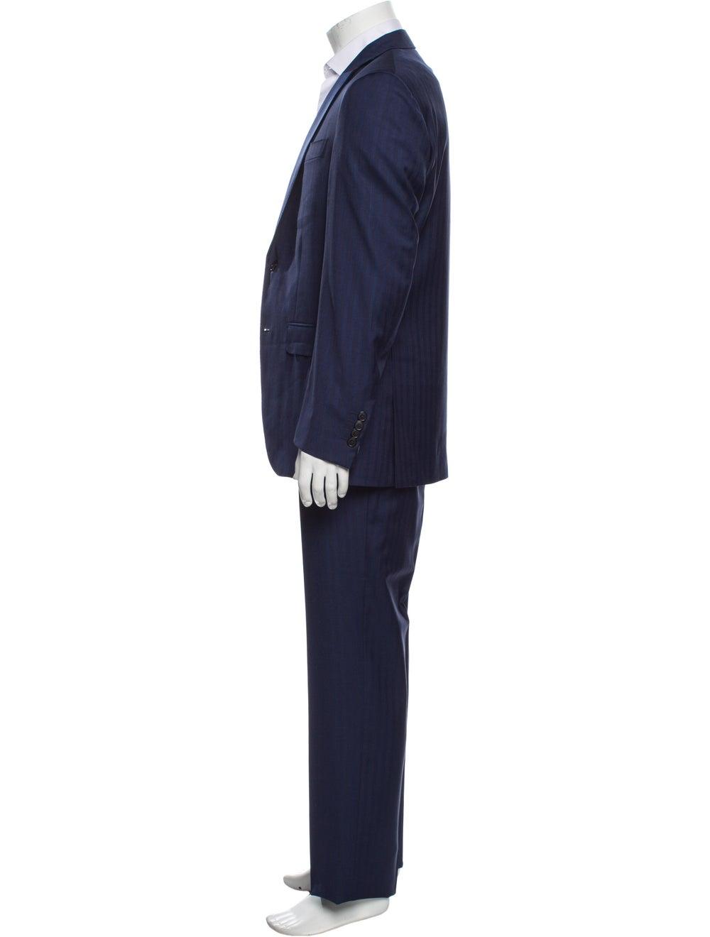 Battaglia Virgin Wool Two-Piece Suit Wool - image 2