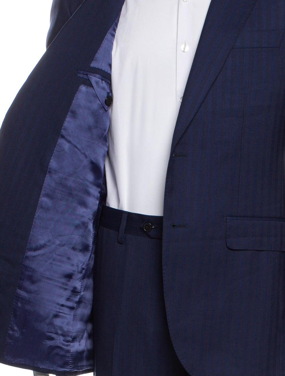 Battaglia Virgin Wool Two-Piece Suit Wool - image 5