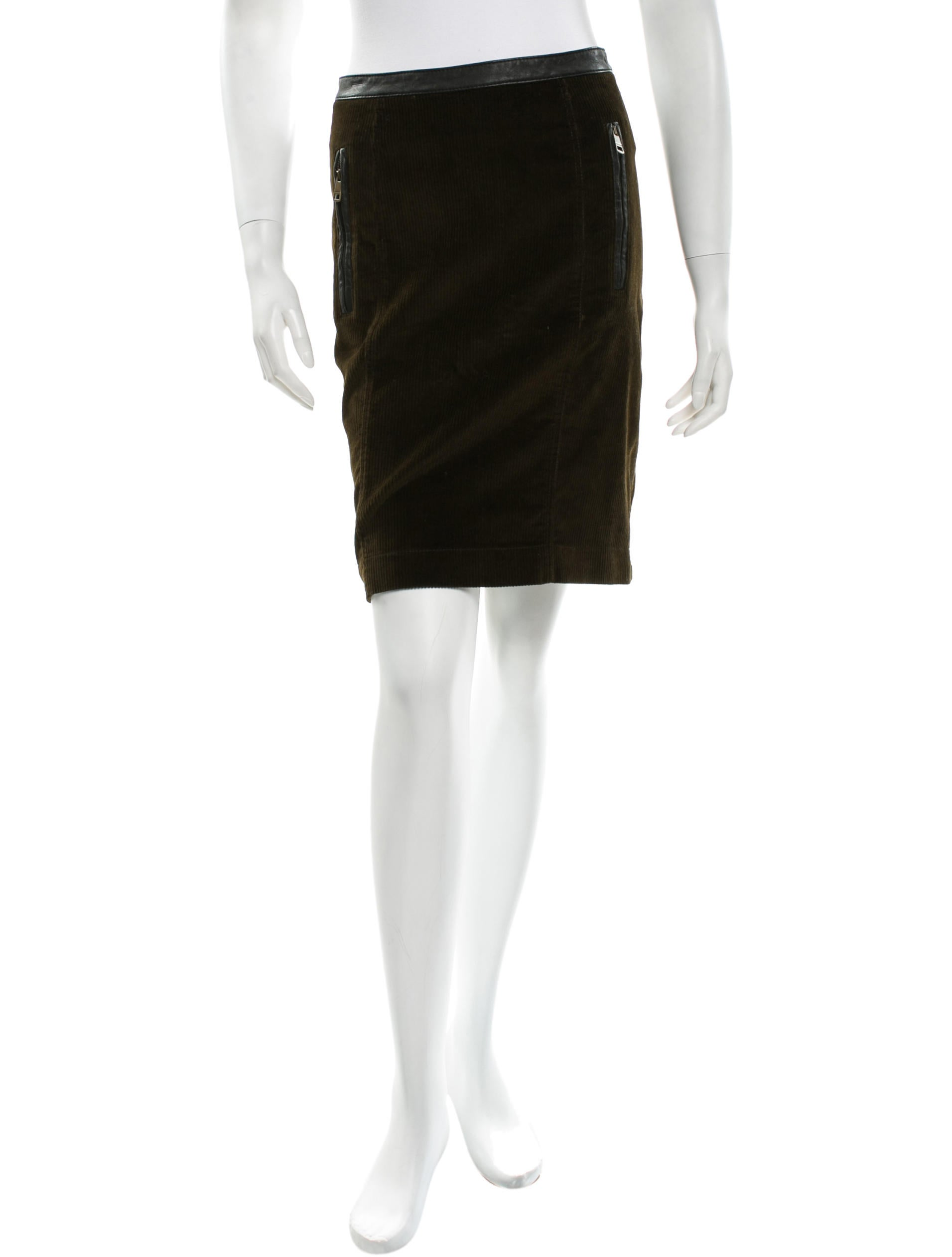 burberry brit corduroy a line skirt clothing bbr22078