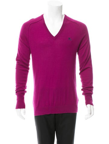 Burberry Brit Cashmere V-Neck Sweater None