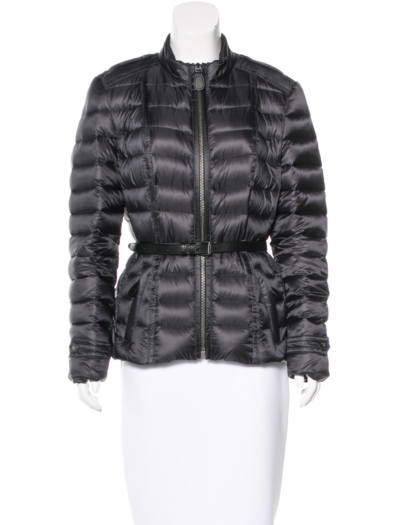 Burberry Brit Belted Down Jacket - Clothing