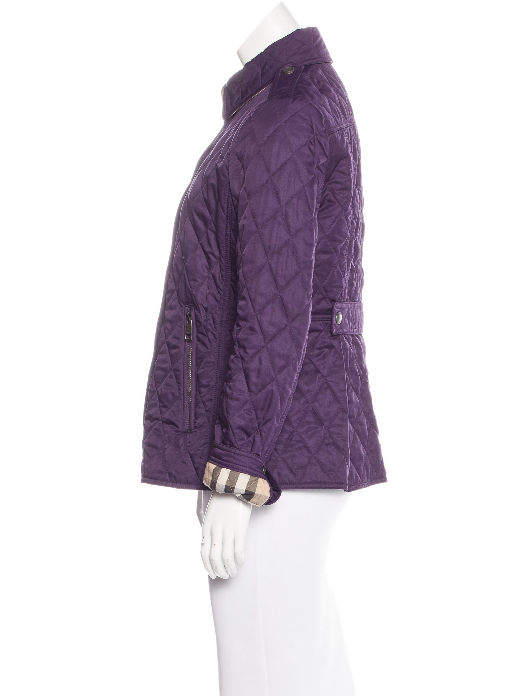Burberry Brit Lightweight Quilted Jacket Coats