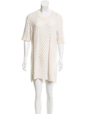 Burberry Brit Knit Mini Dress None