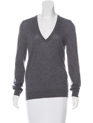 Burberry Brit Merino Wool Rib Knit Sweater w/ Tags None