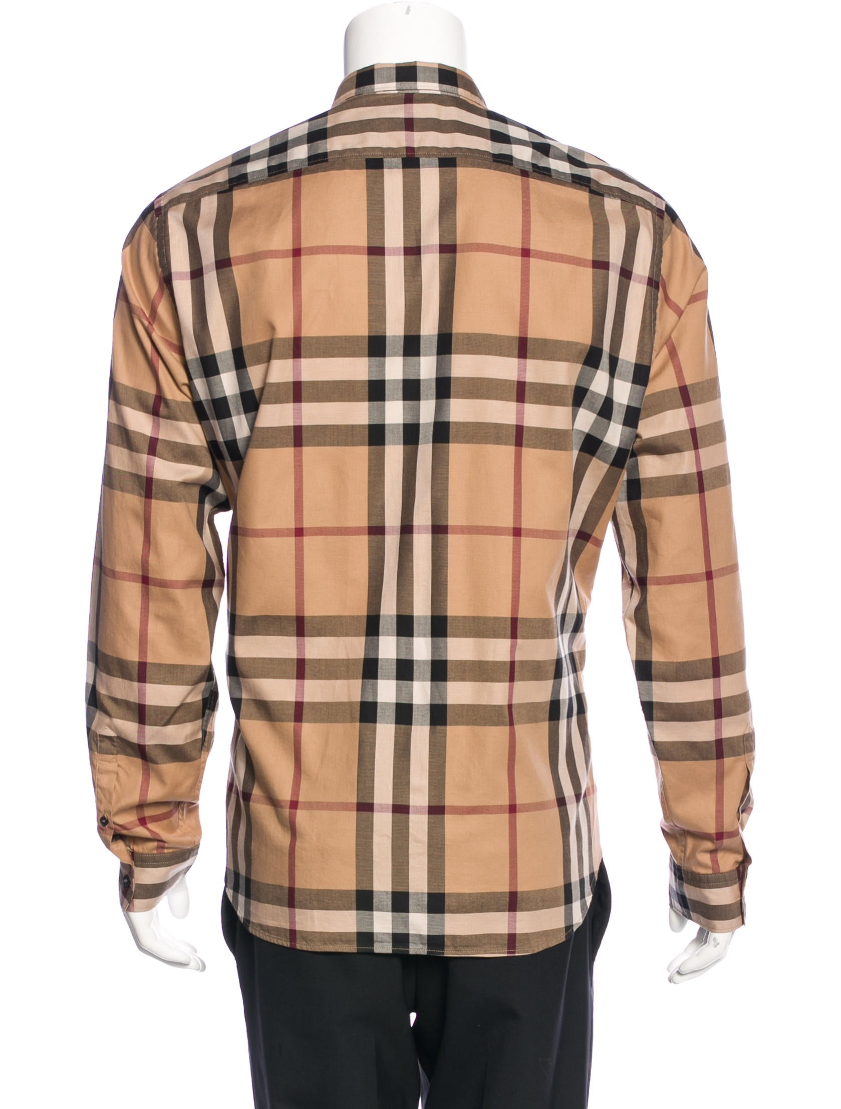 Burberry brit super nova check shirt clothing bbr26813 for Burberry brit checked shirt