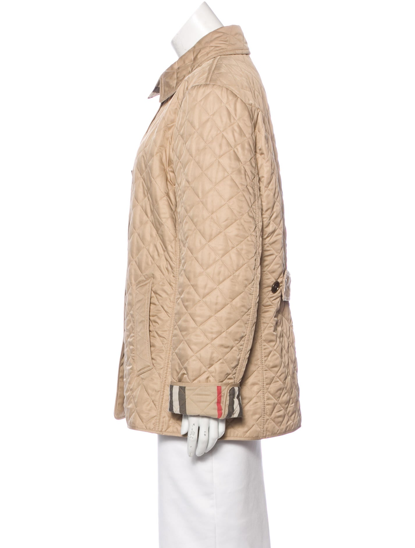 Burberry Brit Quilted Blouson Jacket - Clothing - BBR26961 ...