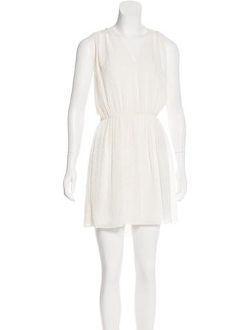 Burberry Brit Silk Sleeveless Dress w/ Tags None