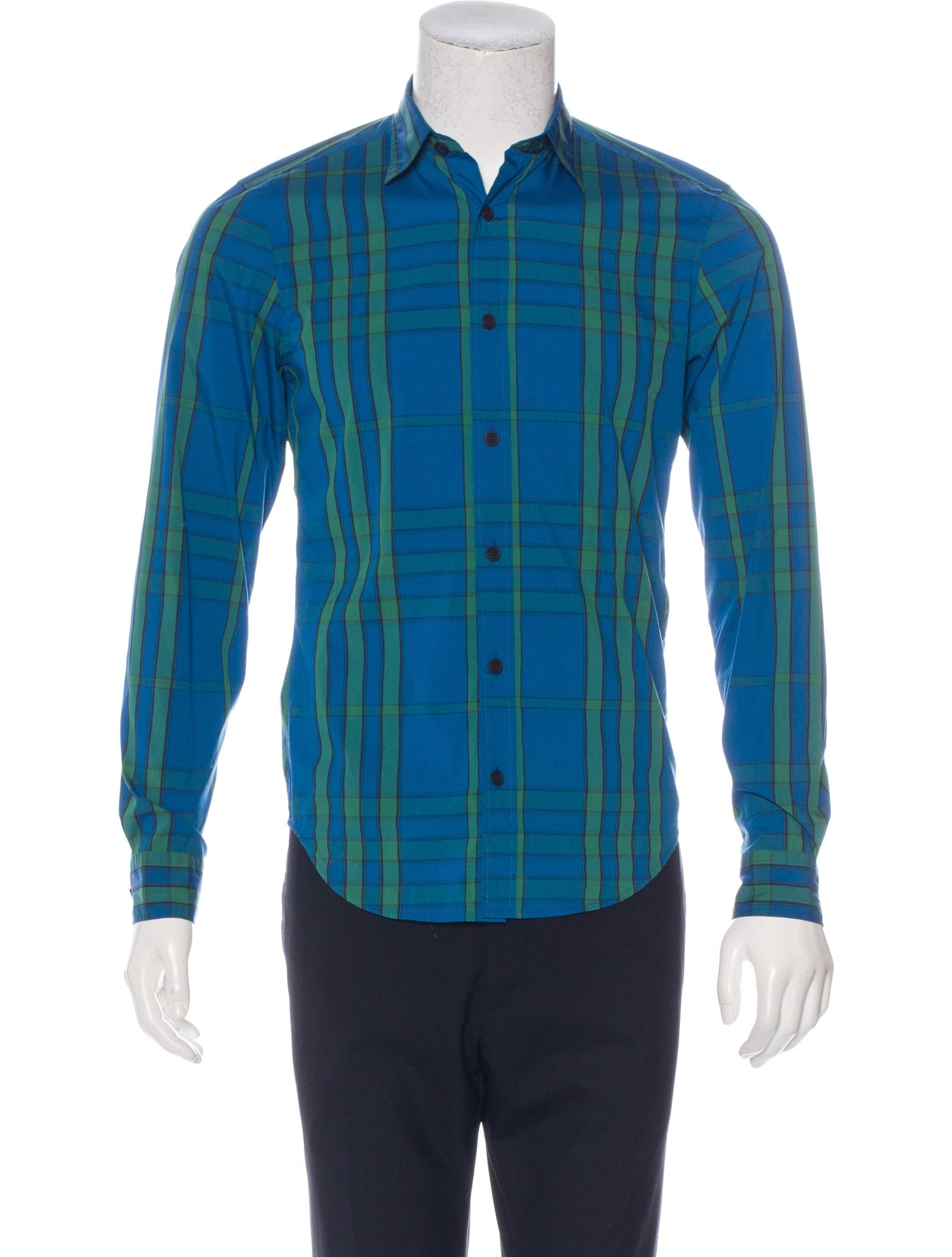 Burberry brit willbourne woven shirt w tags clothing Woven t shirt tags