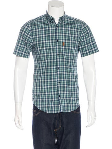 Burberry Brit Plaid Woven Shirt Clothing Bbr27625