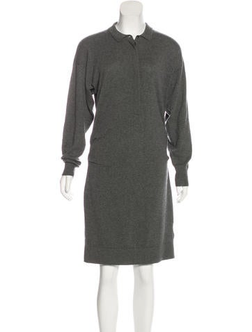 Burberry Brit Cashmere Collared Dress w/ Tags None