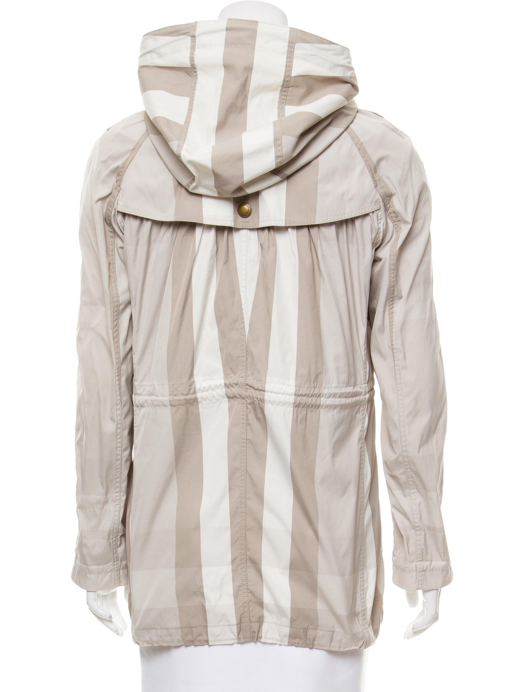 Burberry Brit Lightweight Plaid Jacket Clothing