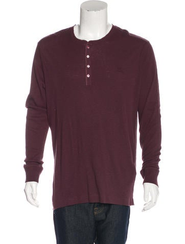 Burberry Brit Thermal Henley T-Shirt None