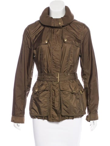 Burberry Brit Casual Zip-Up Jacket None
