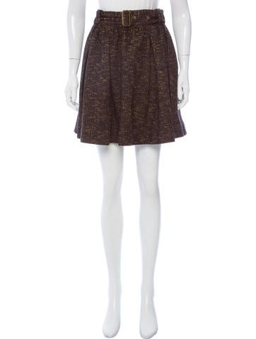 burberry brit belted mini skirt clothing bbr29121
