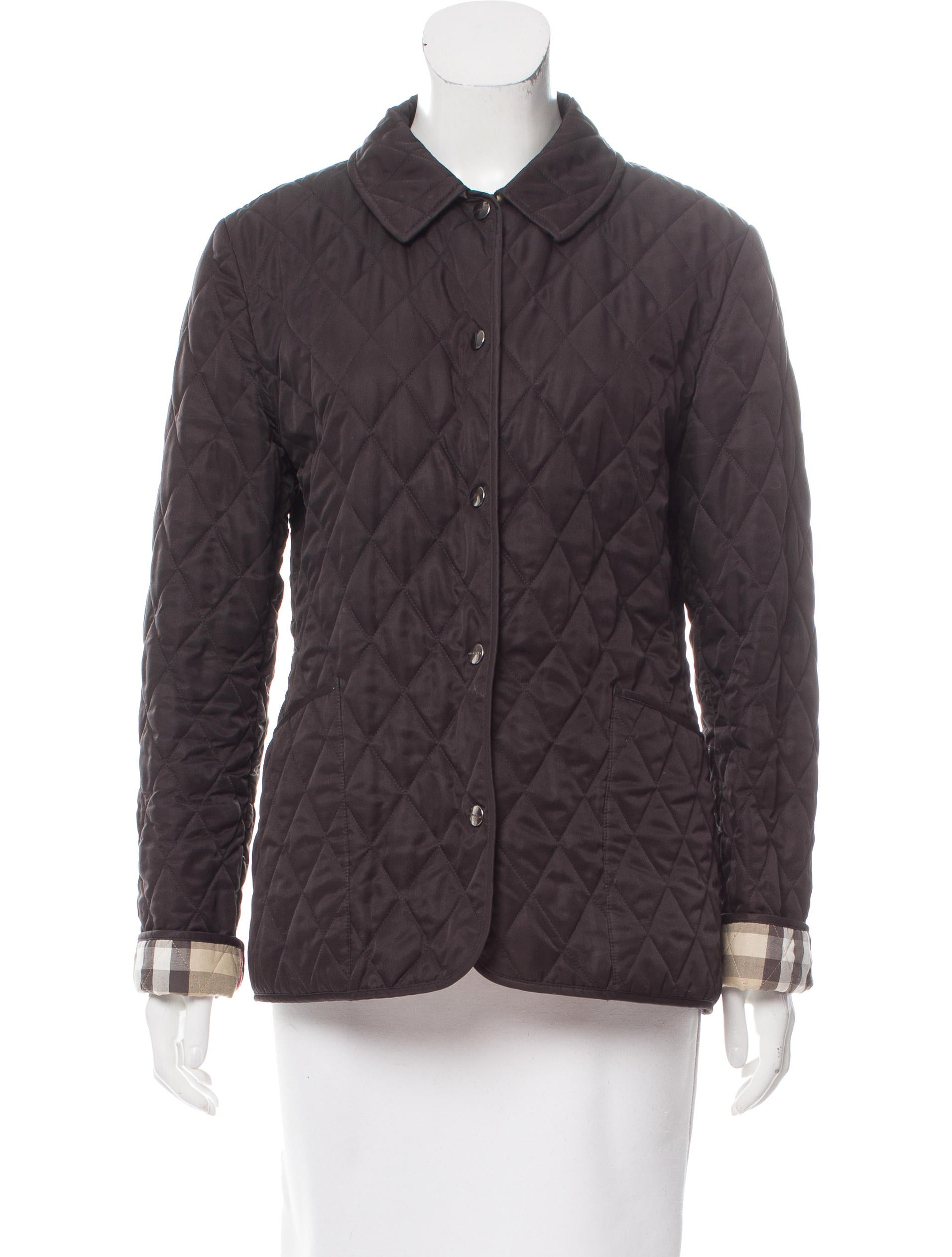 Burberry Brit Quilted Nova Check Jacket