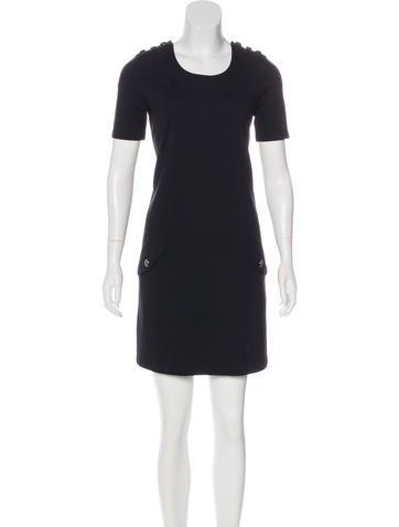 Burberry Brit Knit Mini Dress None