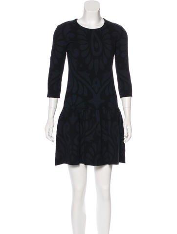 Burberry Brit Silk-Blend Dress None