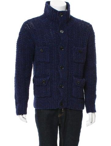 Burberry Brit Merino Wool Zip-Up Cardigan None