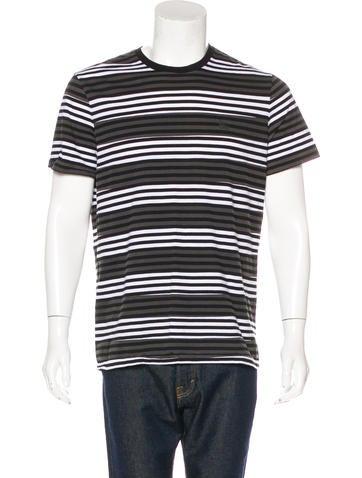 Burberry Brit Striped Crew Neck T-Shirt None