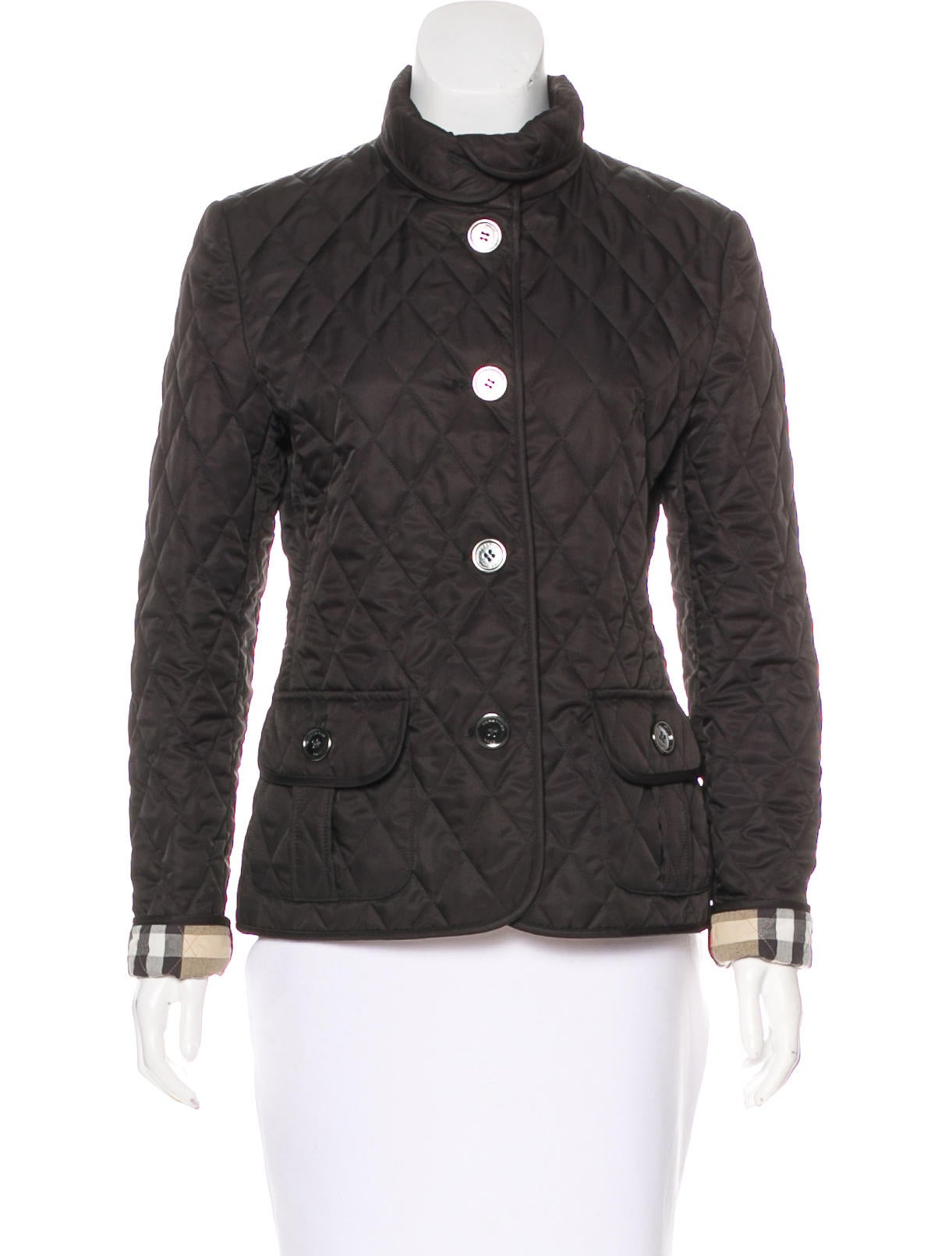 Burberry Brit Quilted Casual Jacket - Clothing