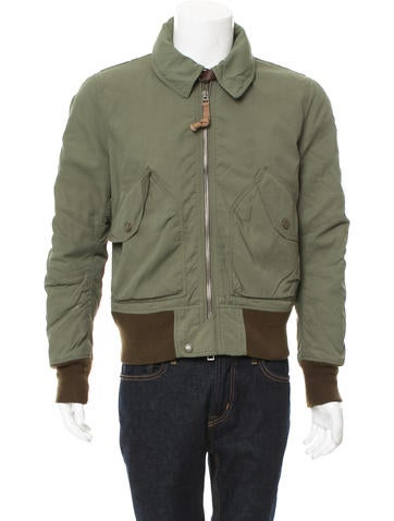 Burberry Brit Smoke Check-Lined Flight Jacket None