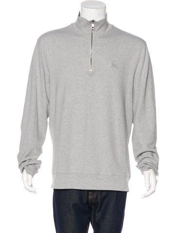Burberry Brit Half-Zip Sweatshirt None