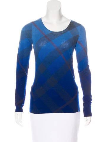 Burberry Brit Wool Knit Sweaters None