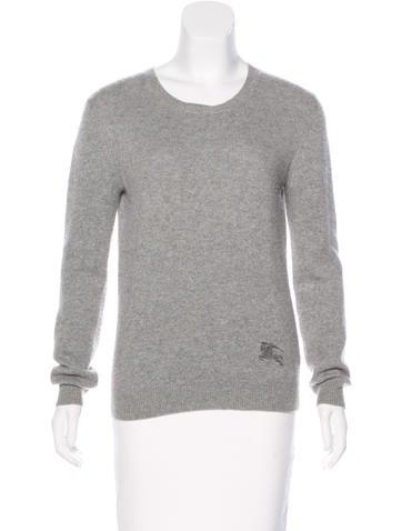 Burberry Brit Cashmere Crew Neck Sweater None