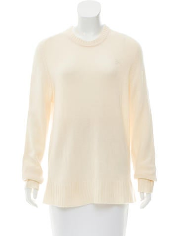 Burberry Brit Cashmere-Wool Knit Sweater None