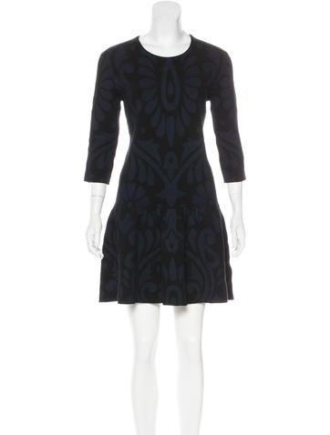 Burberry Brit Silk & Cashmere-Blend Knit Dress None