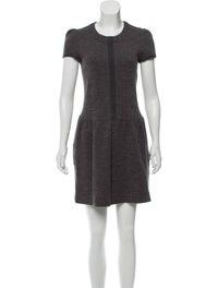Wool Blend Mini Dress image 1