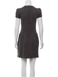 Wool Blend Mini Dress image 3
