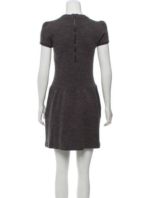 Wool Blend Mini Dress