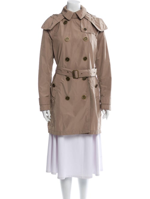 Burberry Brit Balmoral Trench Coat Beige