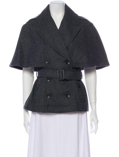 Burberry Brit Wool Cape Wool