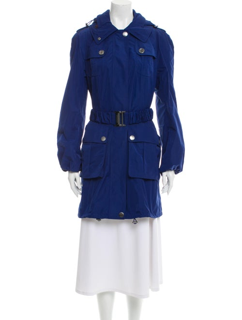 Burberry Brit Trench Coat Blue