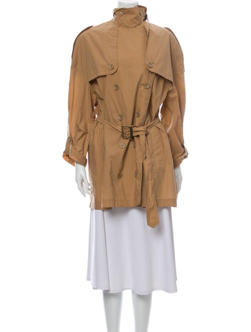 Burberry Brit Trench Coat Brown