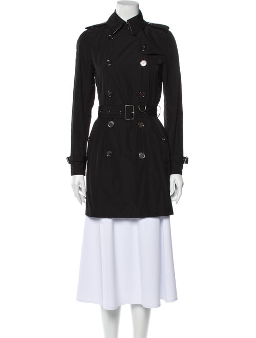 Burberry Brit Trench Coat Black
